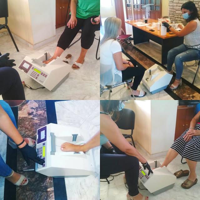 Ήγουμενίτσα: 150 άτομα στην περιοχή της Ηγουμενίτσας εξετάστηκαν δωρεάν για οστεοπόρωση