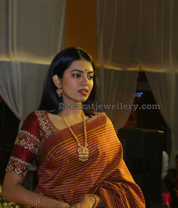Shivani Rajashekar Antique Long Chain