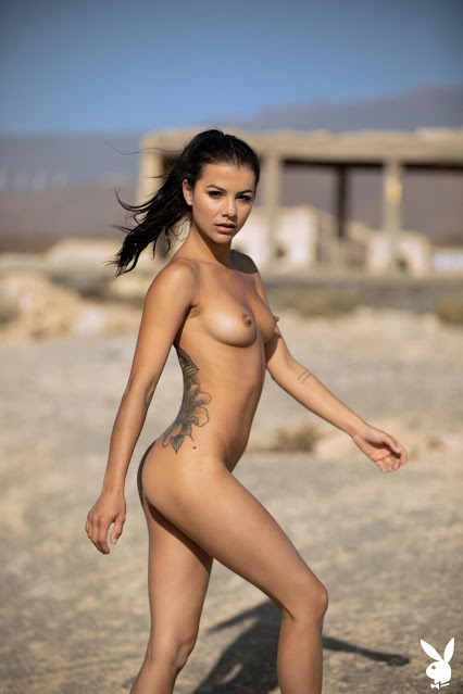 Rare Discovery Playboy Model nude shot 5