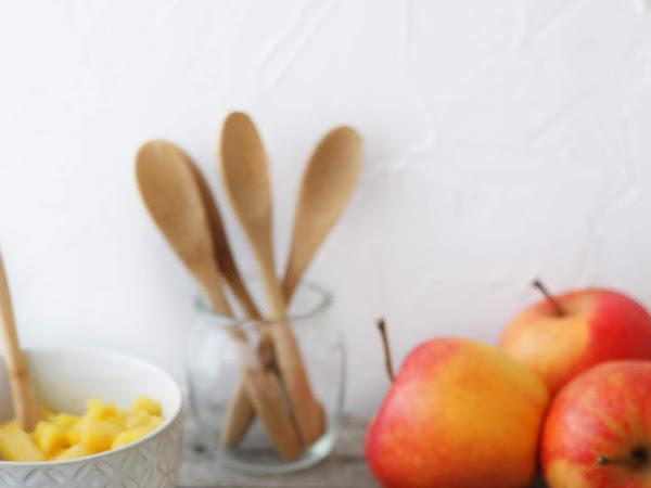 Millefoglie di piadina con crema pasticcera e mele