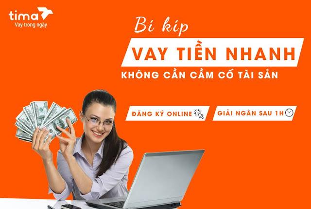 Hướng dẫn vay tiền online Tima đến 50 triệu không cần thế chấp