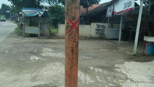 Sempat Membuat Resah Warga Karena Isu Penyerangan Tokoh Agama, Tanda Silang dan Panah Merah di Tangerang Itu Ternyata.....
