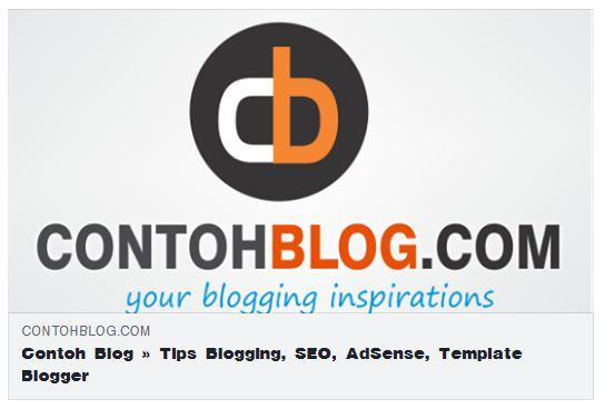 Cara Menampilkan Gambar Thumbnail Halaman Depan Blog di Facebook dan Twitter