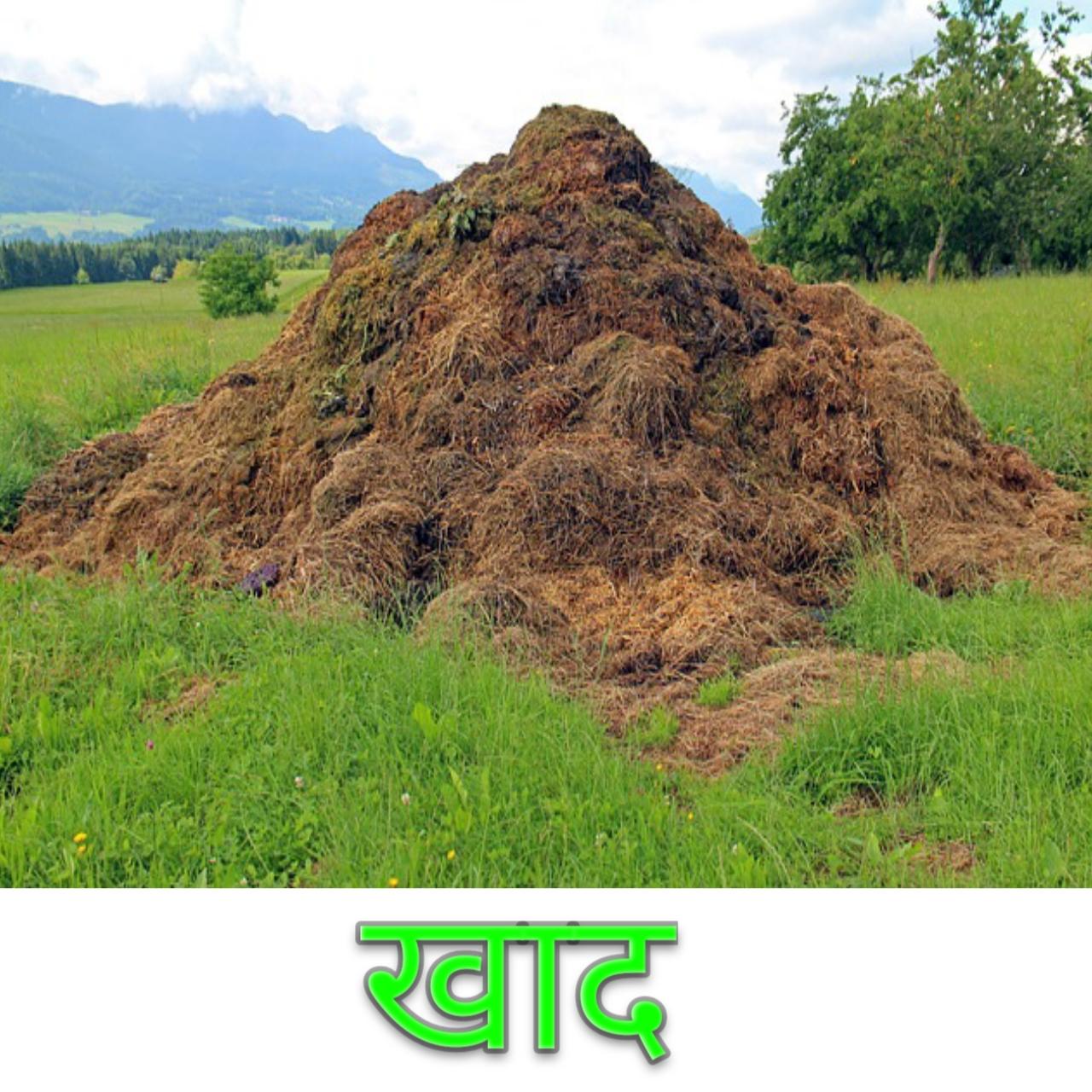 खाद ( Manure ) की परिभाषा और वर्गीकरण तथा गोबर की खाद ( F. Y. M. ) क्या है इसके लाभ एवं प्रयोग विधि लिखिए
