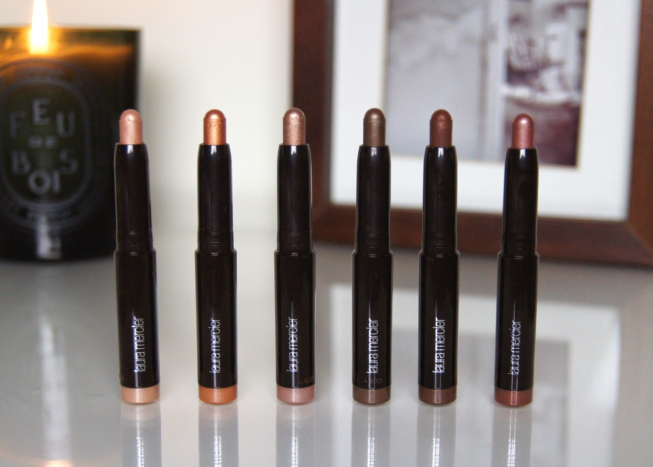 laura mercer mini caviar stick eye colour collection gift set review
