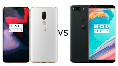 OnePlus 6 vs OnePlus 5T :  what's different?