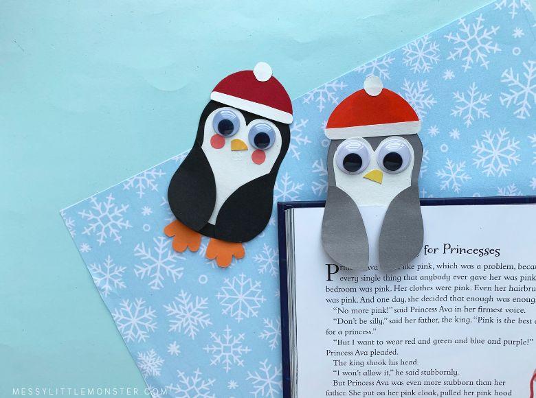 bookmark penguin craft