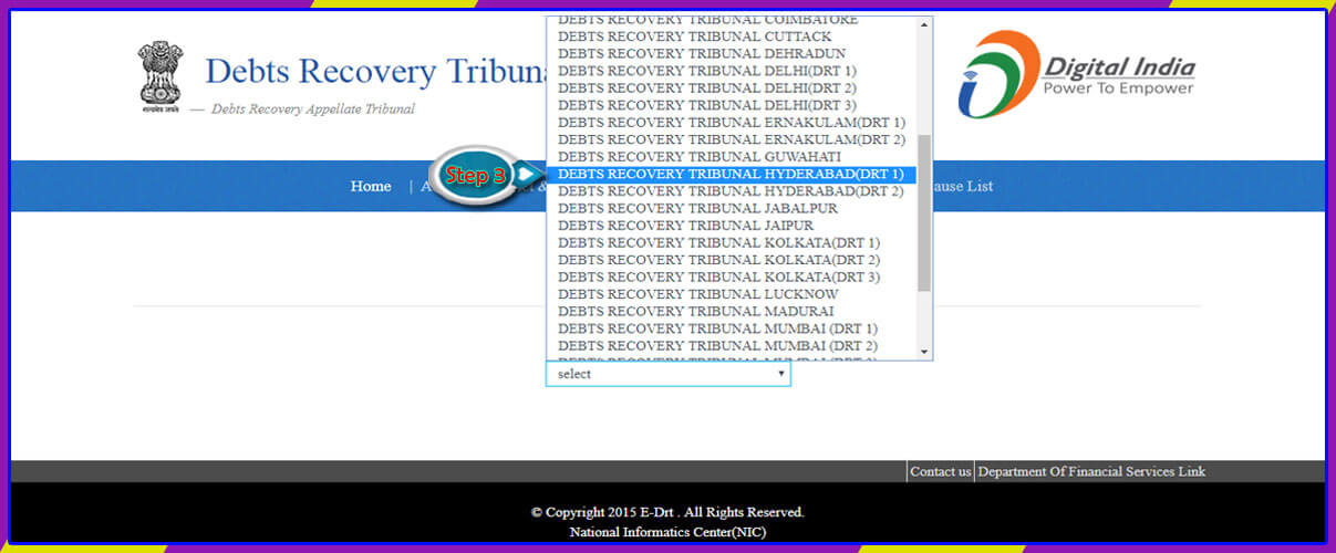 Debts Recovery Tribunal-1 Hyderabad Daily Order Detail-1