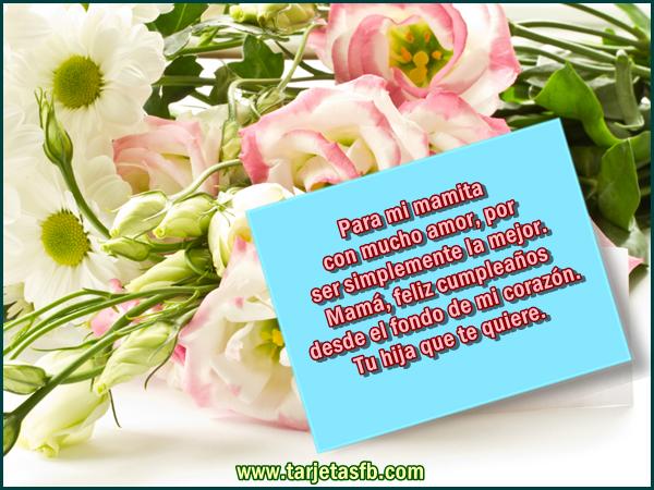 Carta De Feliz Cumpleanos Para Mi Madre Imagui