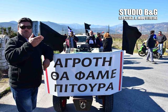 Ζεσταίνουν τα τρακτέρ τους οι αγρότες της Αργολίδας