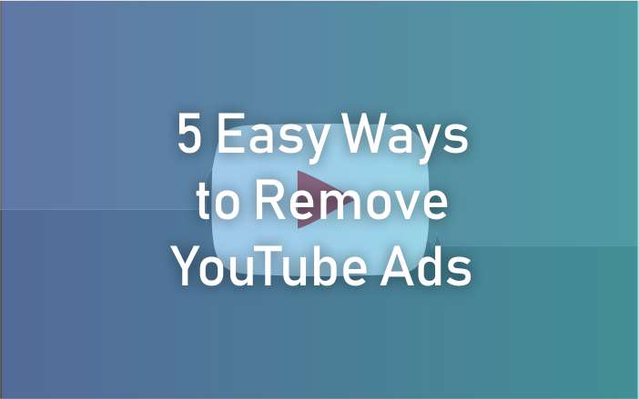 Remove YouTube Ads