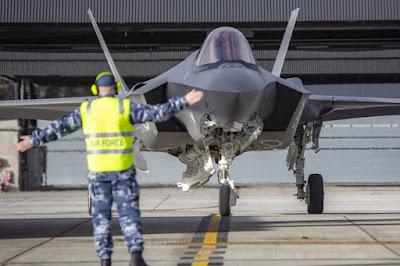 F-35A at RAAF WILLIAMTOWN
