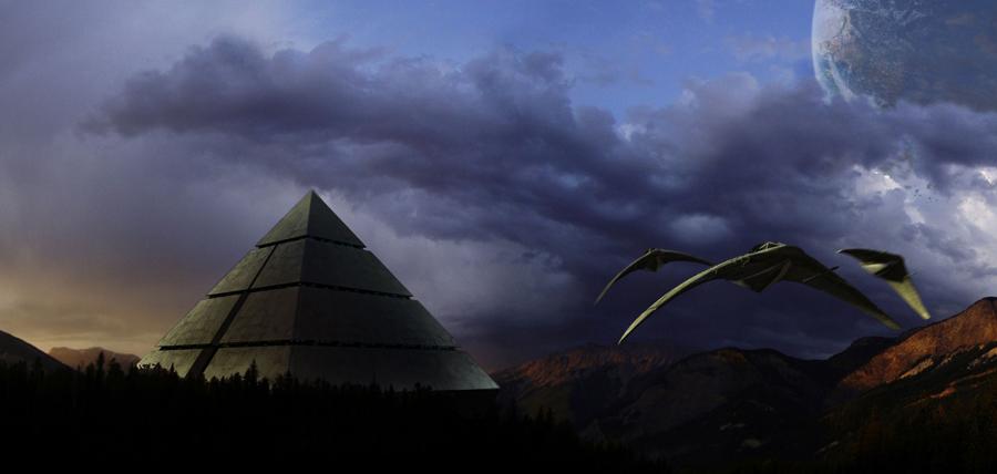 Concept art Stargate