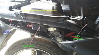 Cara pasang alarm motor pada Yamaha Mio J