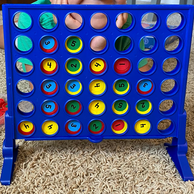 Connect Four addition game