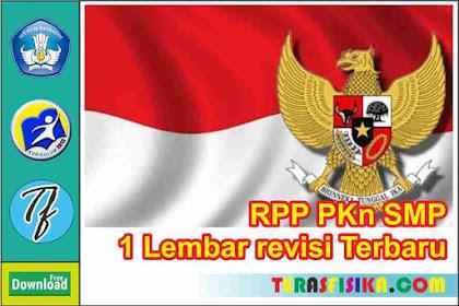 Download RPP PKn SMP/Mts Kelas 9 1 Lembar Semester 2 (Genap)