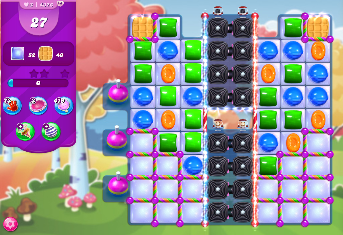 Candy Crush Saga level 4326