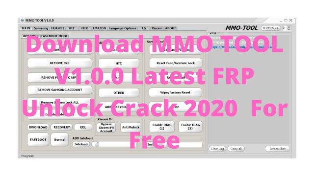 Download MMO TOOL V1.0.0 Latest FRP Unlock Crack 2020  For Free