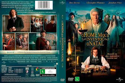 Filme O Homem Que Inventou O Natal (The Man Who Invented Christmas) DVD Capa
