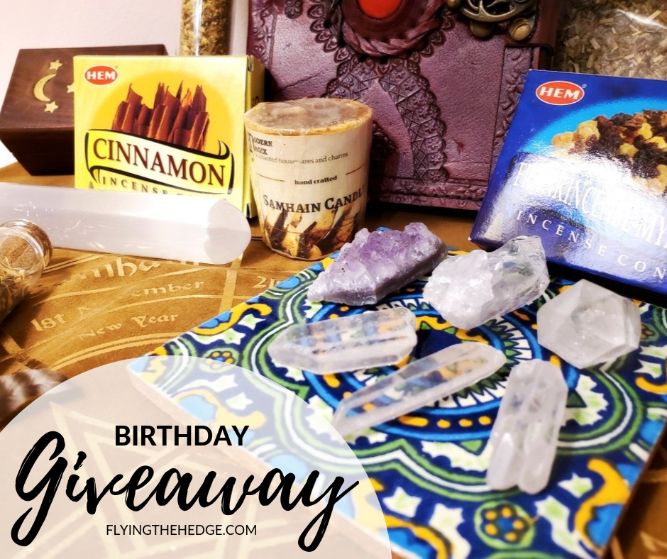 Birthday Giveaway October 2019