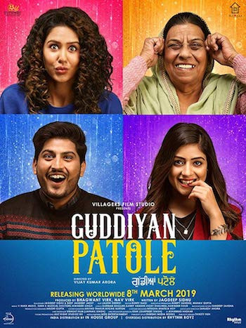 Watch Online Guddiyan Patole 2019 Punjabi 950MB 720p WEBRip Free Download bolly4ufree.in