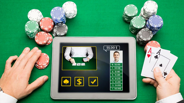 Juego de casino para tablet