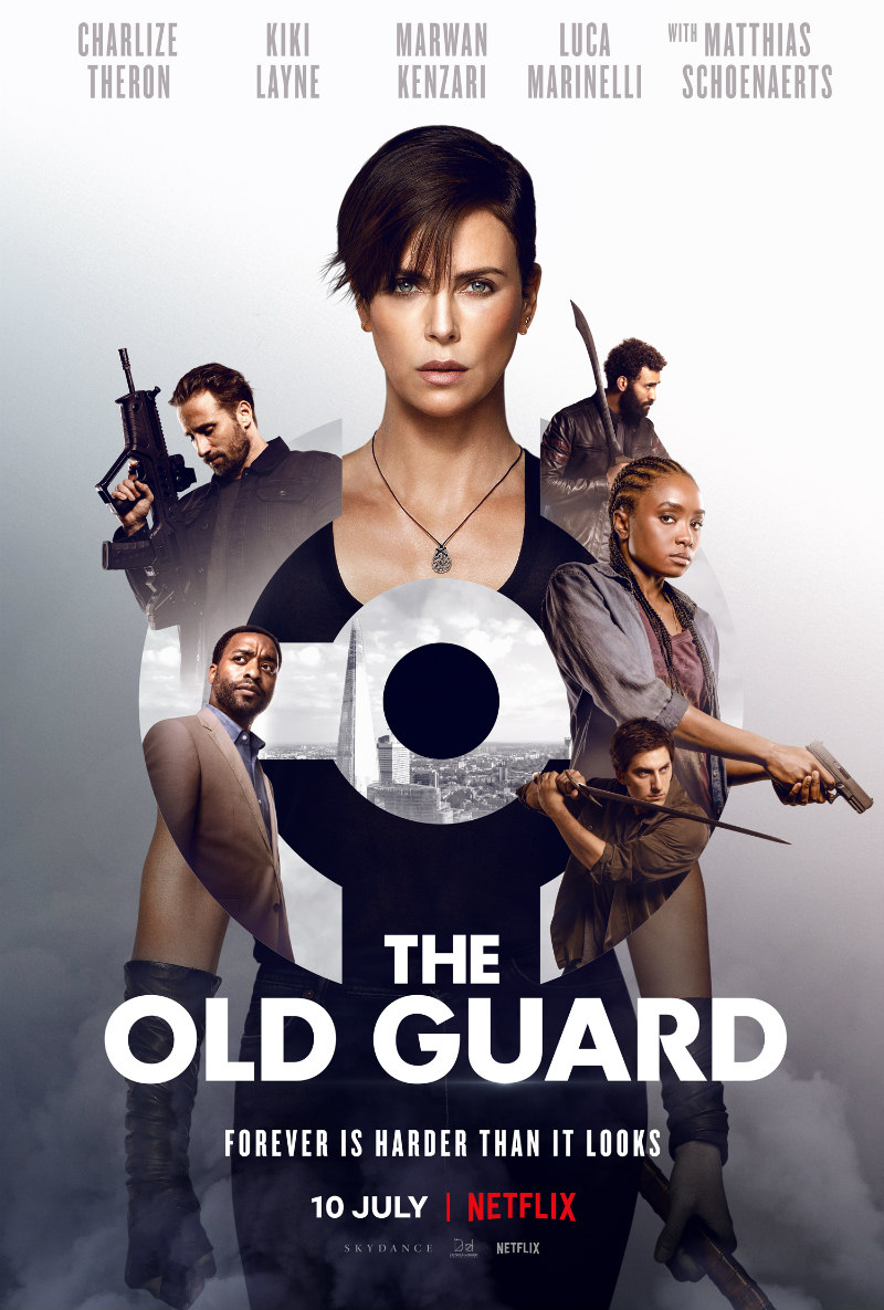 the old guard charlize theron poster