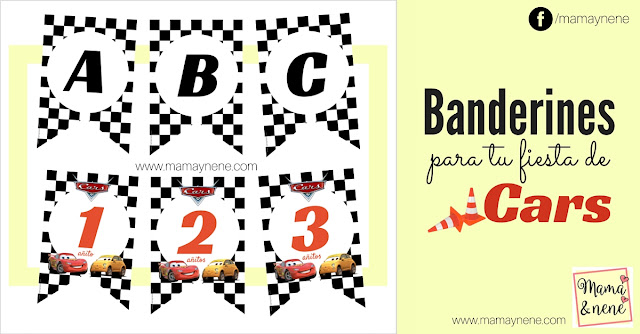 BANDERINES-FREEBIES-FIESTA-CARS-PIXAR-MAMAYNENE