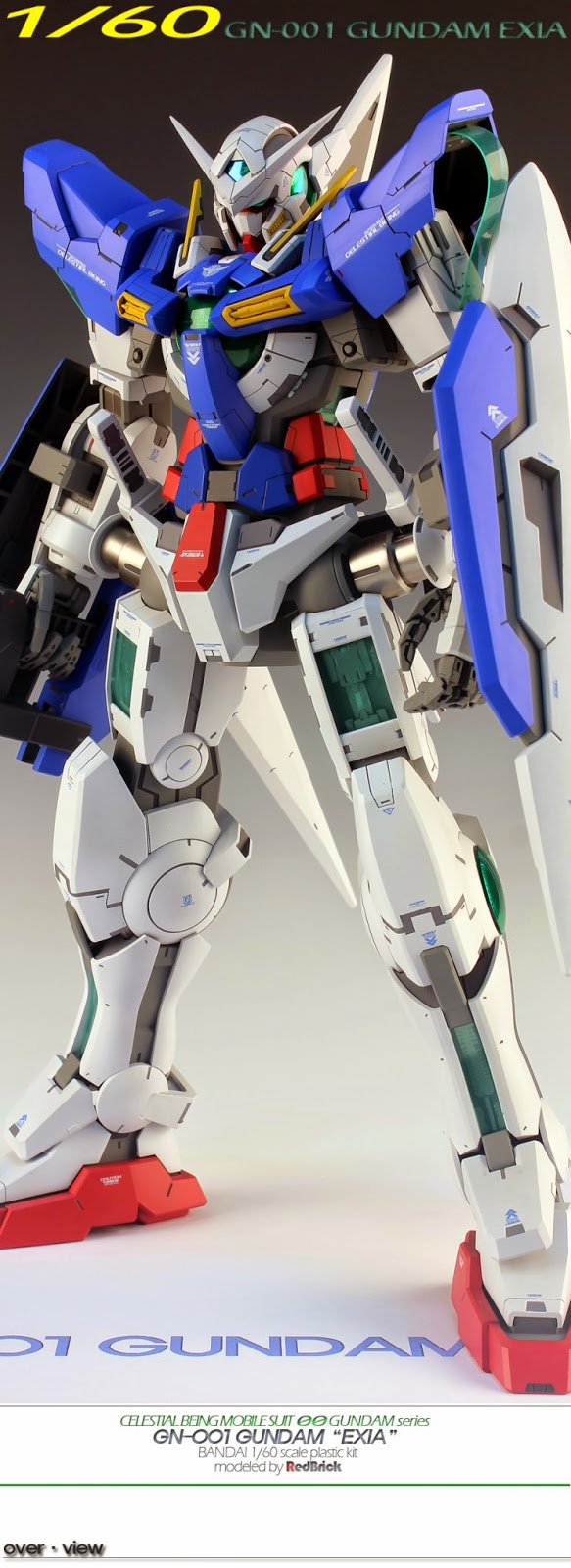 7e126d726ad GUNDAM GUY  1 60 GN-001 Gundam Exia - Customized Build