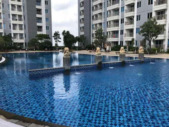 kolam renang fasilitas di hotel