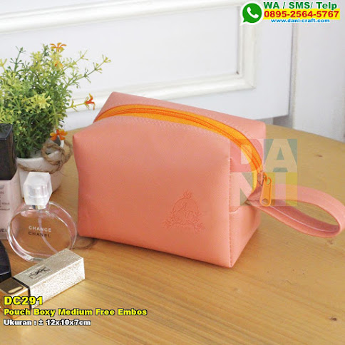 Pouch Boxy Medium Free Embos