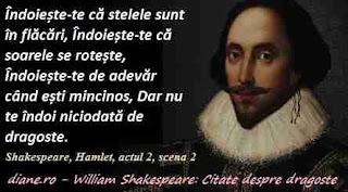 Shakespeare: Citate despre dragoste