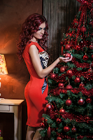 Rochie Chanttal Red Cat (newfashionromania)