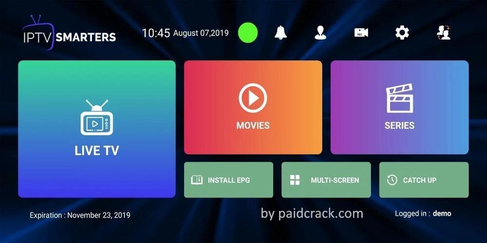 IPTV Smarters Pro Mod Apk 2.2.2.5