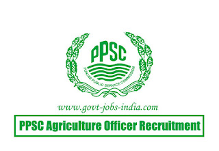 PPSC Agriculture Officer Recruitment 2020