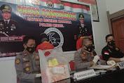 Polres Minsel Gelar Press Conference Ungkap Paket Sabu Sabu Dalam Kue Brownis