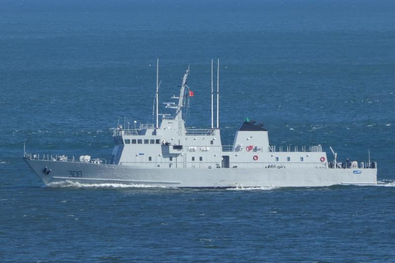 Après deux de rénovation, le patrouilleur Marocain El Lahiq retourne au Maroc.