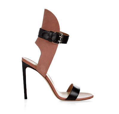 Francesco Russo Bi-color Leather and Suede Heels