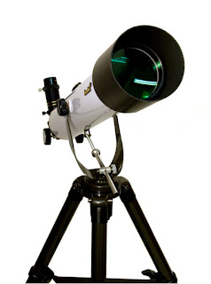 An Astronomical Telescope with Glass Lenses