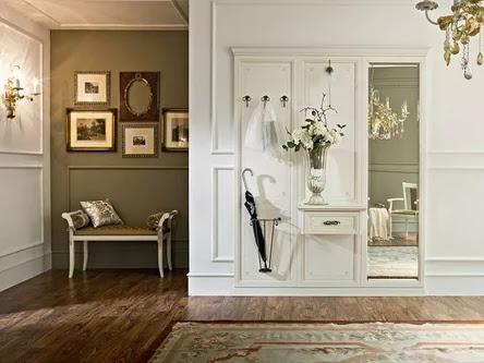 interior english style Simple hallway