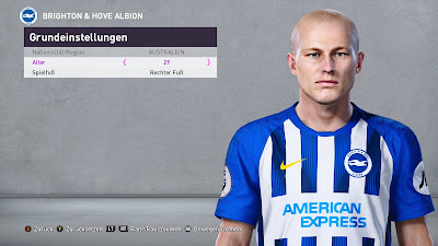 PES 2020 Faces Aaron Mooy