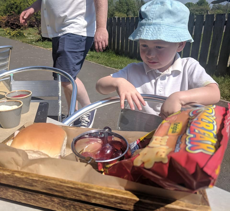 Nelson's at the Park, Swarland - Review  - kids picnic