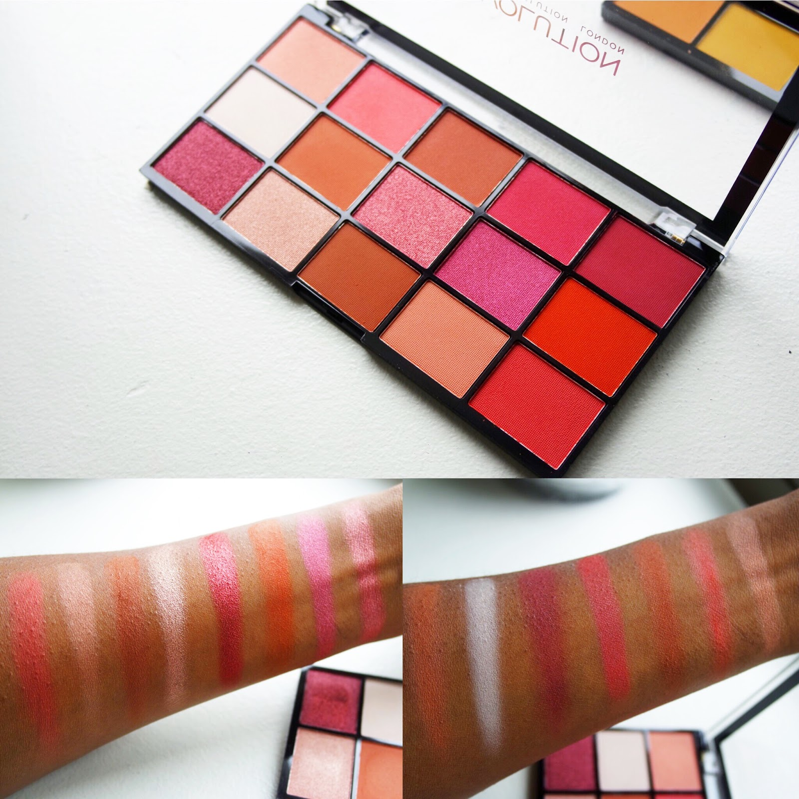 Makeup Revolution Newtrals 2 Swatches