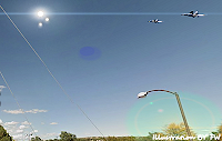 Military Jets Give Chase To UFO Orbs Over Colorado Springs?