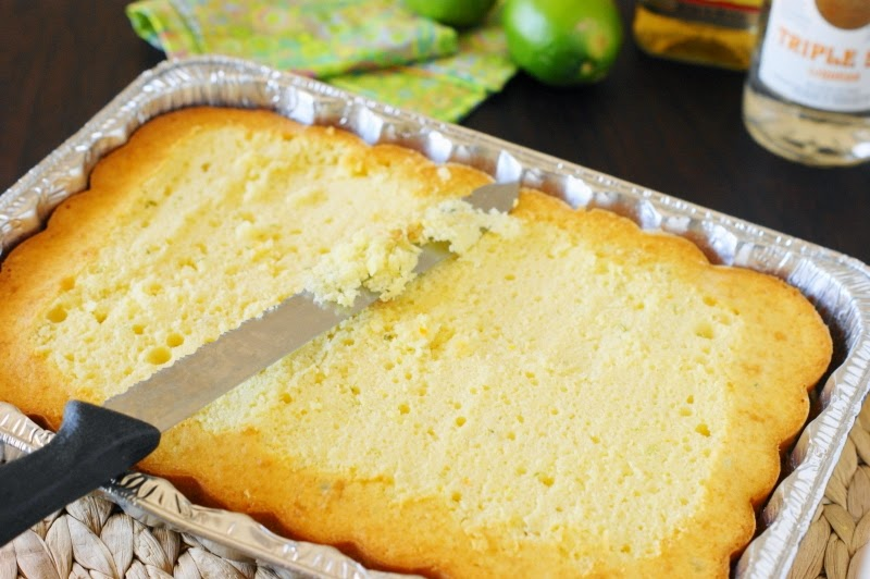 Making Margarita Cake-n-Jello Shots
