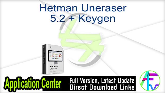 Hetman Uneraser 5.2 + Keygen