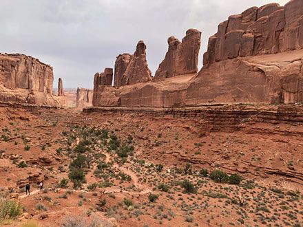 Rugged structures and landscape at Arches National Park (Source: Palmia Observatory)