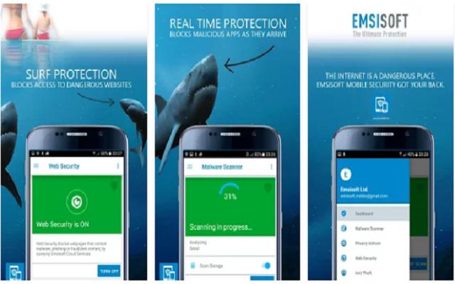 تحميل برنامج الحماية  Emsisoft Mobile Security للأندرويد