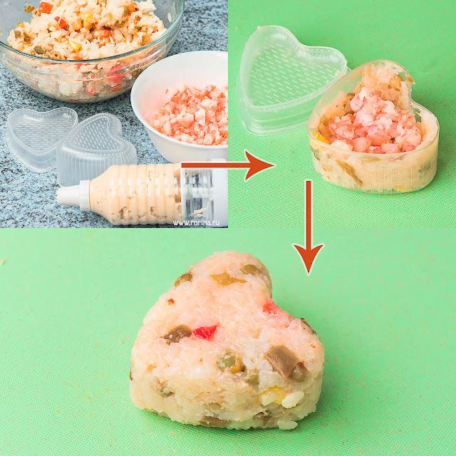 Как делать онигири в домашних условиях: инструкция с фото