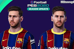 Lionel Messi New Face - PES 2020